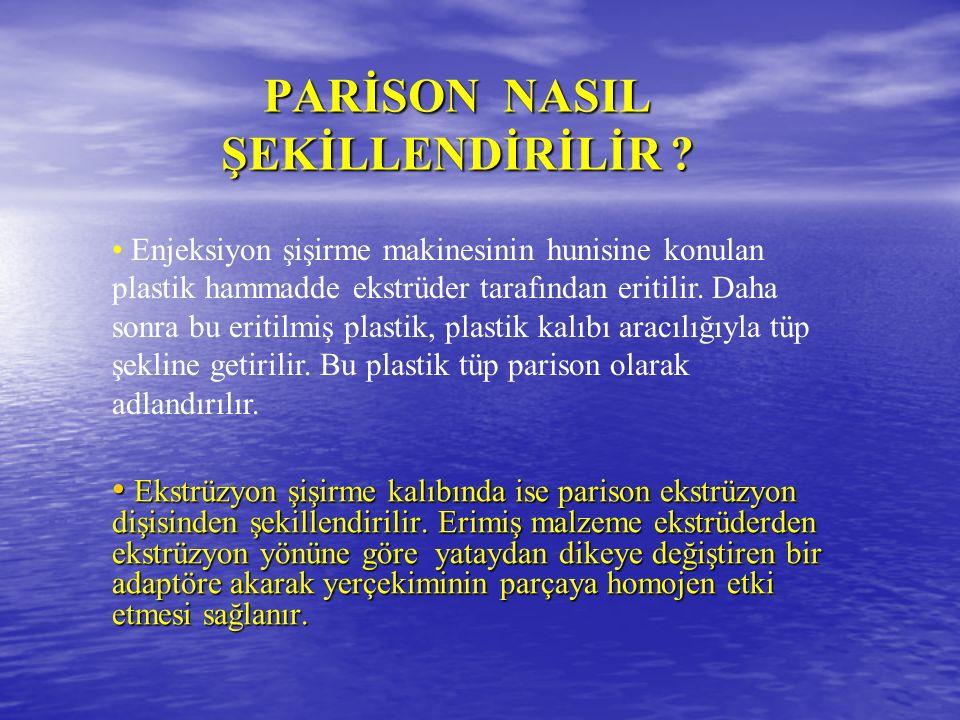 PARİSON NASIL ŞEKİLLENDİRİLİR .