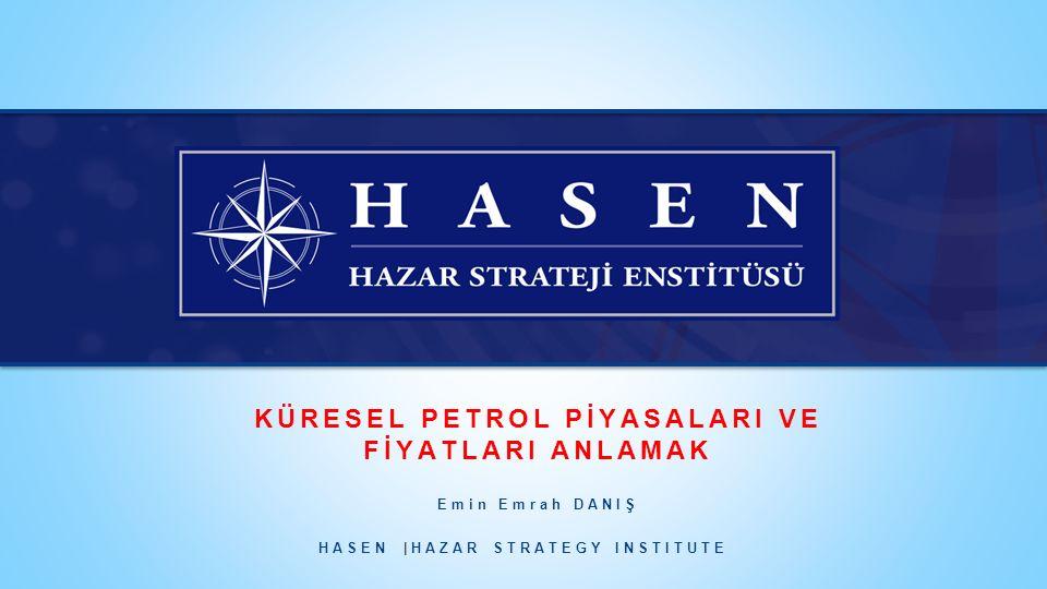HAZAR STRATEGY INSTITUTE (HASEN) www.hazar.org HASEN HAKKINDA 11 Düşük petrol fiyatlarının uzun süre devam edeceği varsayımı altında yaptığı düşük fiyat senaryosuna göre ise düşük petrol fiyatlarının talep üzerindeki uyarıcı etkisiyle birlikte; talebin 2020'de 97 milyon varil/gün, 2040 yılında ise 107,2 milyon varil/güne yükseleceği öngörülmektedir.