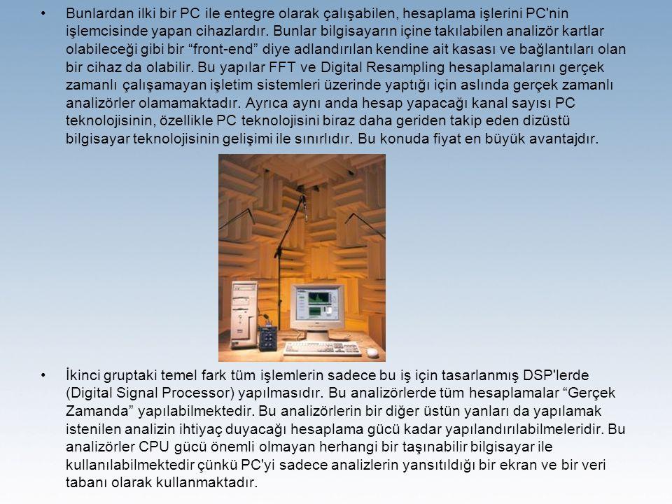 Bunlardan ilki bir PC ile entegre olarak çalışabilen, hesaplama işlerini PC nin işlemcisinde yapan cihazlardır.