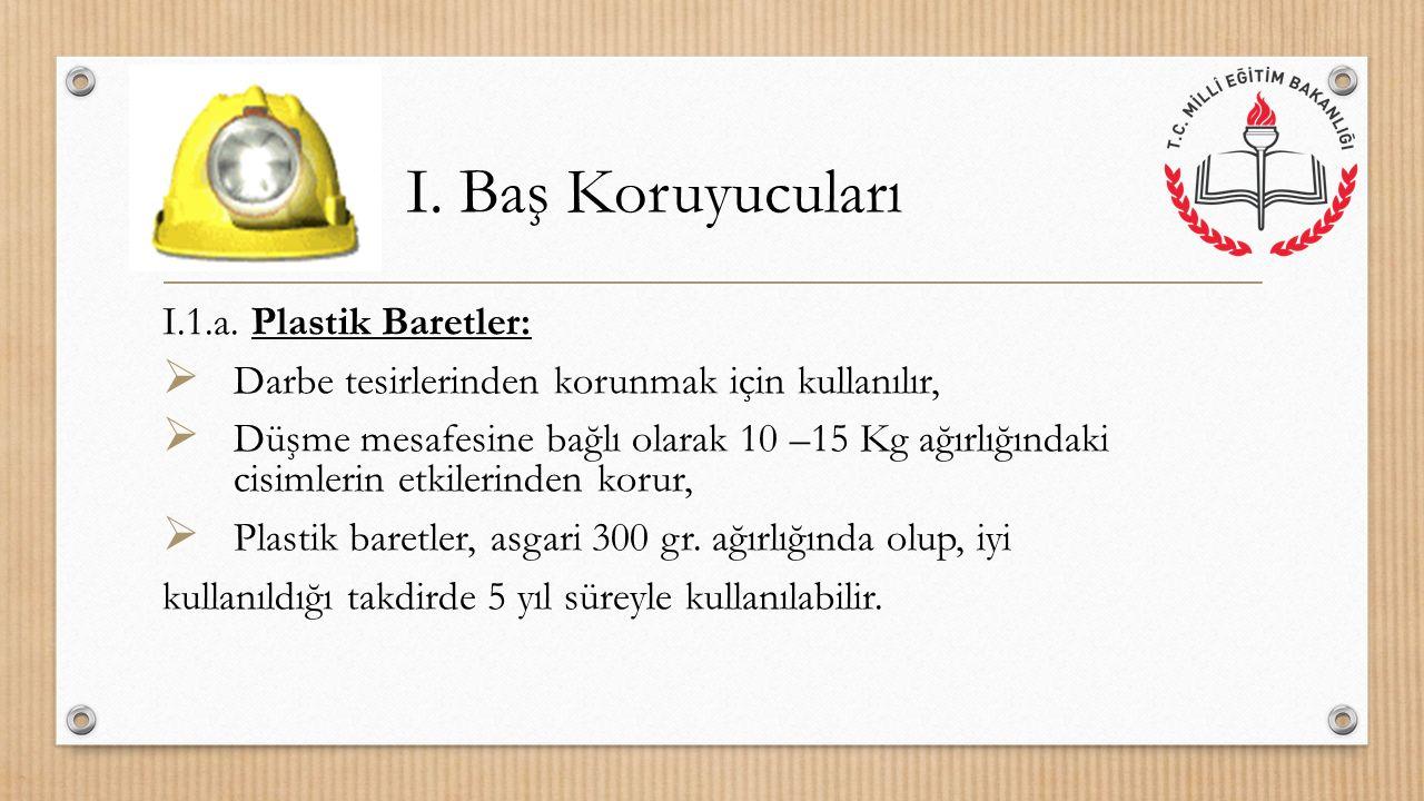 I. Baş Koruyucuları I.1.a.