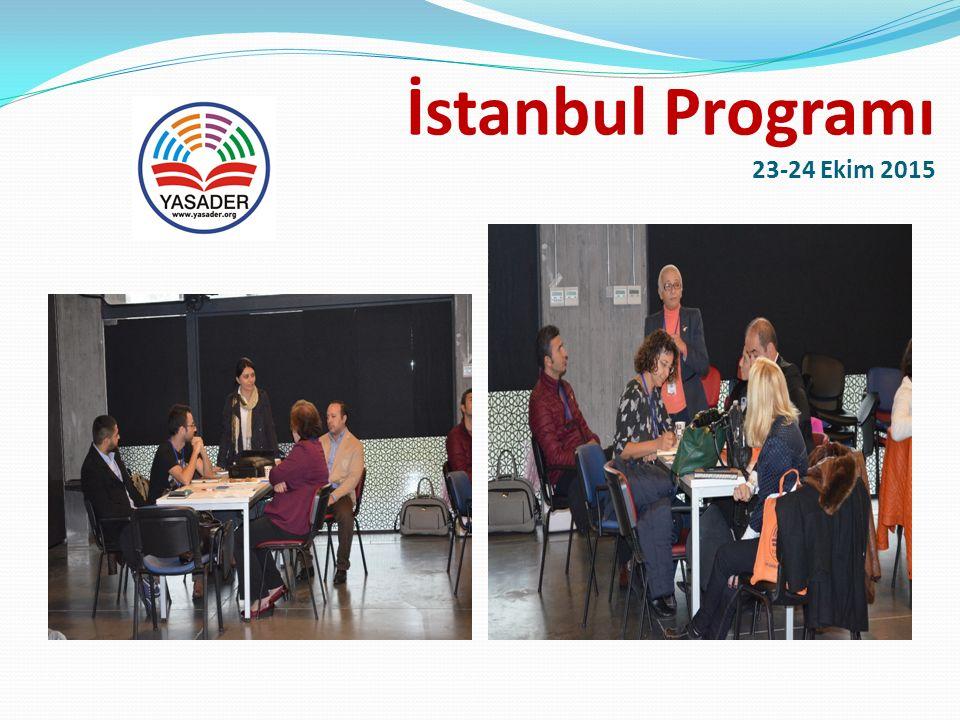 İstanbul Programı 23-24 Ekim 2015 Atölye Çalışması