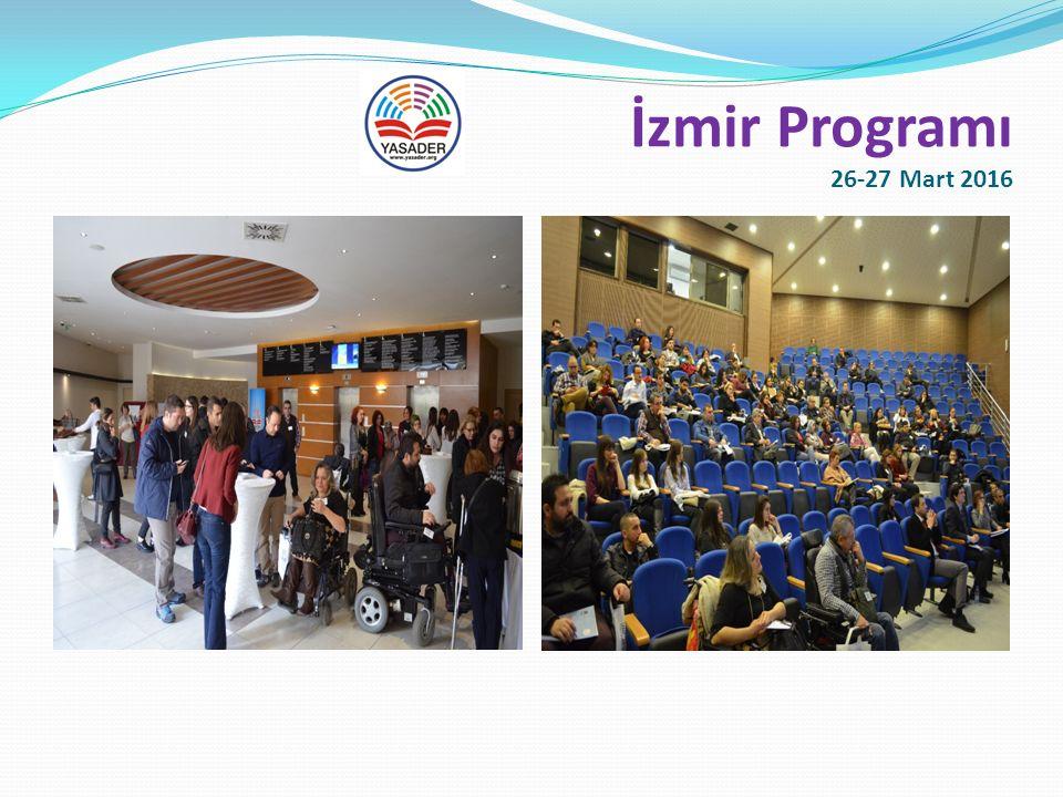 İzmir Programı 26-27 Mart 2016 Sunumlar