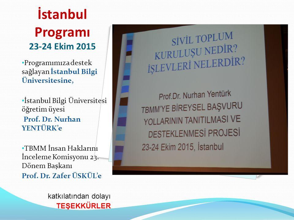 Ankara Programı 8-9 Ocak 2016