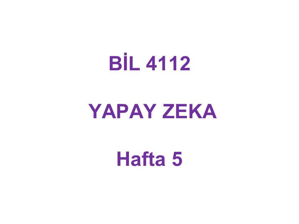 Eğer Beta-değer, çocuk düğümün Alpha-değerinden küçük veya ona eşitse: Uygun soy üzerindeki düğümlerin üretimini durdurmalı MIN MAX MAX 2 2222 6 =2 2222 3 1111 Alpha-değer Beta-değer  1 Alpha-Beta Budama İlkeleri