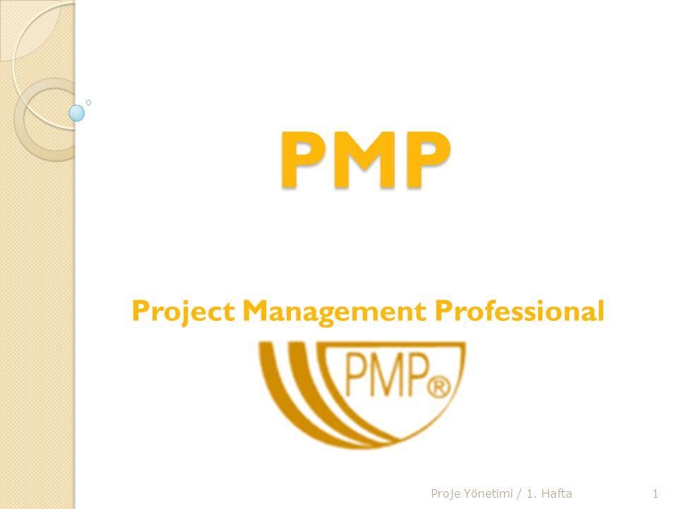 PMP (Project Management Professional) Sınavı Hazırlık E ğ itim Programları Bu programlarda, Proje Yönetimi'ndeki temel süreçler ile ilgili konsepti ve kritik uygulama tekniklerini ö ğ retilir.