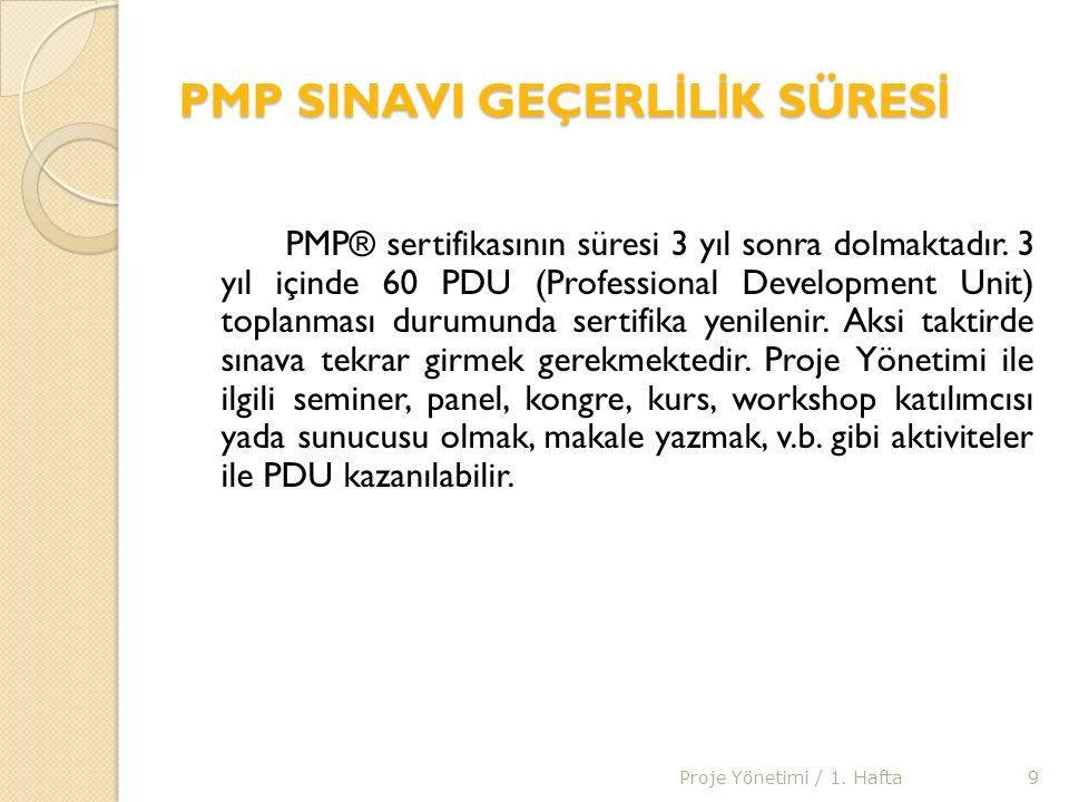 PMP SINAV SORULARI Sınav soruları, katılımcıların proje yönetimiyle ilgili becerilerini ve uygulamalarını test edecek şekilde hazırlanmaktadır.