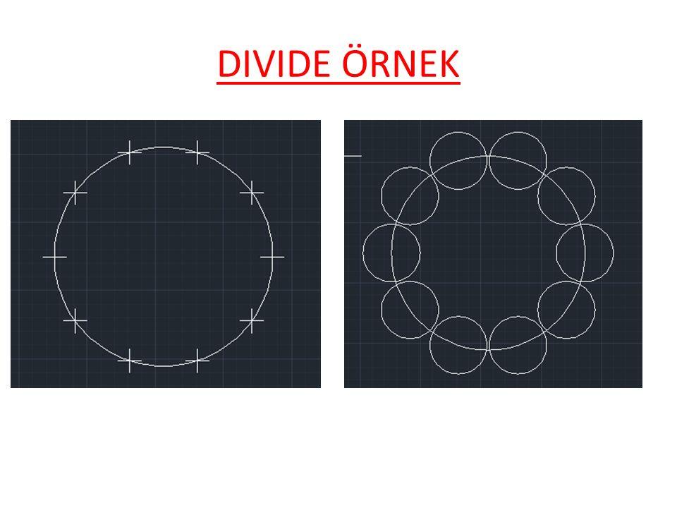 DIVIDE ÖRNEK