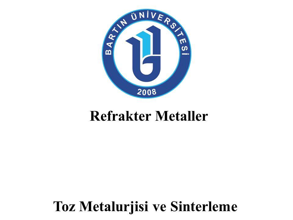 Toz Metalurjisi Toz metalurjisi, metal tozlarını üretme ve kullanılır objeler haline getirme bilimi olarak tanımlanabileceği gibi, metal ya da metal olmayan tozların birleştirilip yoğunlaştırılması ile son ürünler elde edilmesinde kullanılan malzeme işleme tekniği olarak da tanımlanabilir.