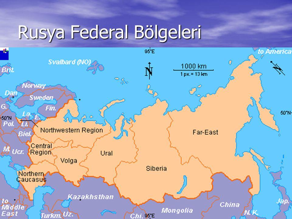 6 Rusya Federal Bölgeleri