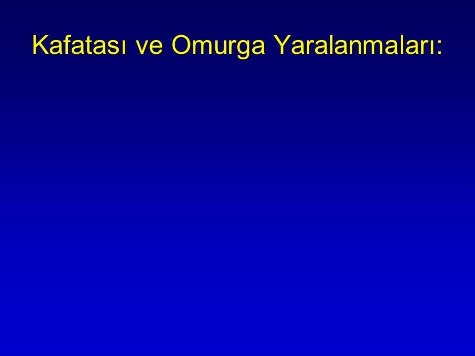 Kafatası ve Omurga Yaralanmaları: