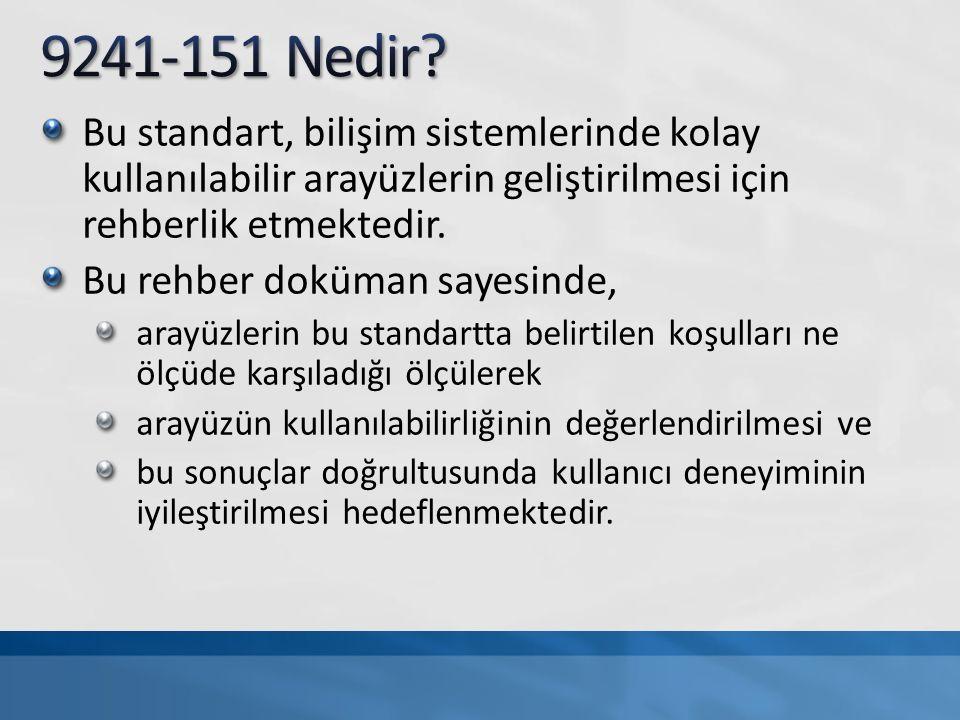 TSE K 194, WCAG VE ISO/IEC 40500:2012: WEB İÇERİĞİ ERİŞİLEBİLİRLİK STANDARTLARI VE KRİTERİ W3C Web Content Accessibility Guidelines (WCAG) 2.0
