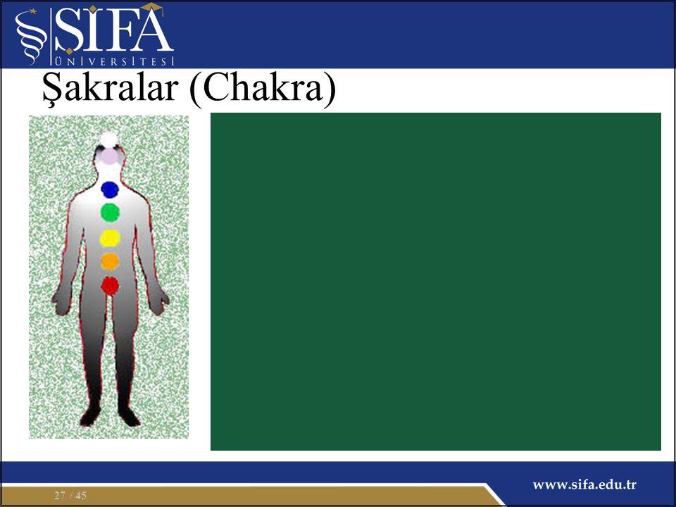 Şakralar (Chakra) / 4527