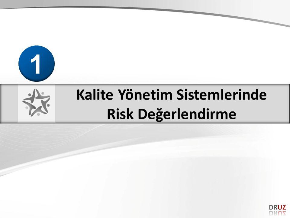 RİSK YÖNETİMİ Çalışma hayatında insan sağlığı ve çevre güvenliği ile ilgili risklerin değerlendirilmesi ve kontrol edilmesine yönelik politika ve tecrübelerin uygulanmasıdır. Risk yönetimi bir organizasyonda stratejik ve operasyonel seviyede uygulanır.