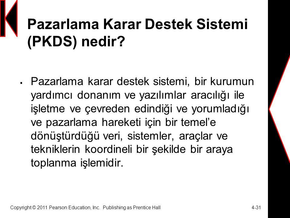 Pazarlama Karar Destek Sistemi (PKDS) nedir.