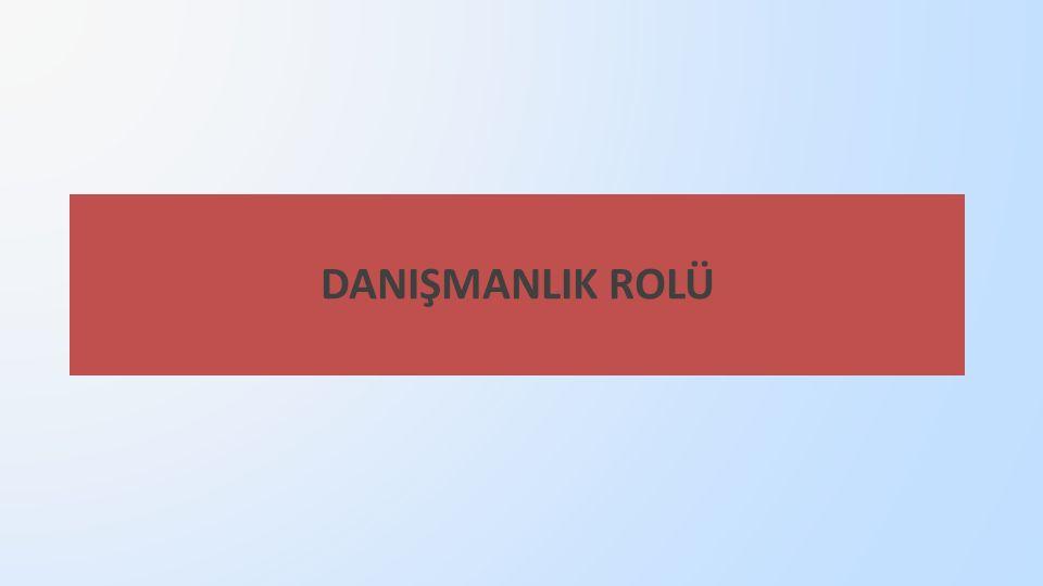 DANIŞMANLIK ROLÜ