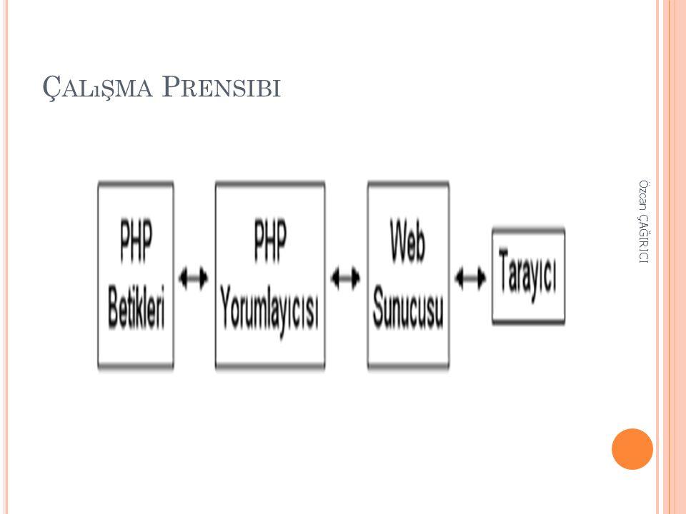 S TRINGLER PHP regular expression destekler.Bir çok string fonksiyonu tanımlıdır.