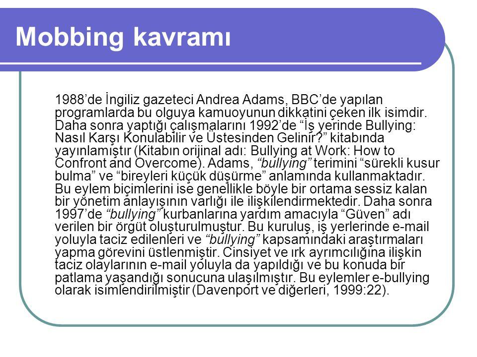 Türk hukukunda mobbing B) MEDENİ KANUN 1) MK-M.