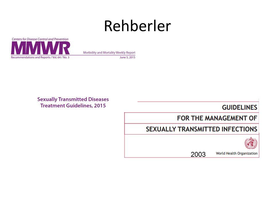 Rehberler 2003