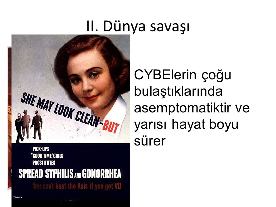 CYBE ilişkili sendromlar 2.