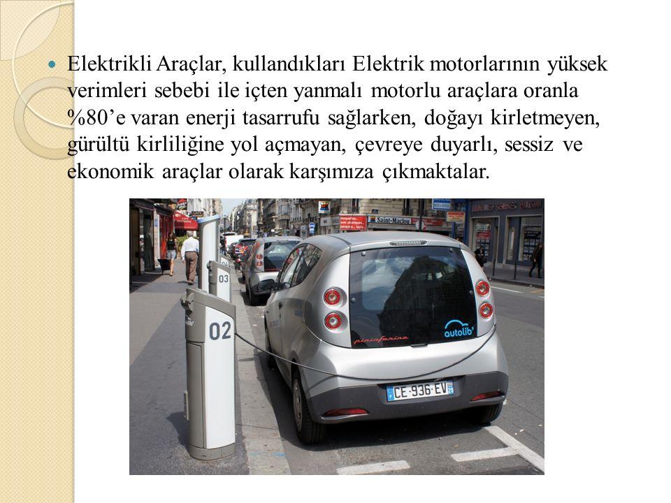 Türkiye 'de Hangi Elektrikli Araçları Görebilece ğ iz.