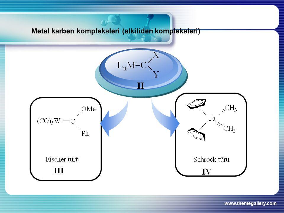 www.themegallery.com Metal karben kompleksleri (alkiliden kompleksleri)