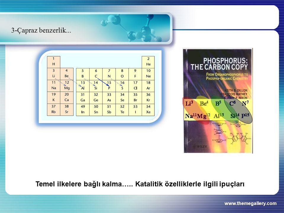 www.themegallery.com 3-Çapraz benzerlik... Temel ilkelere bağlı kalma…..