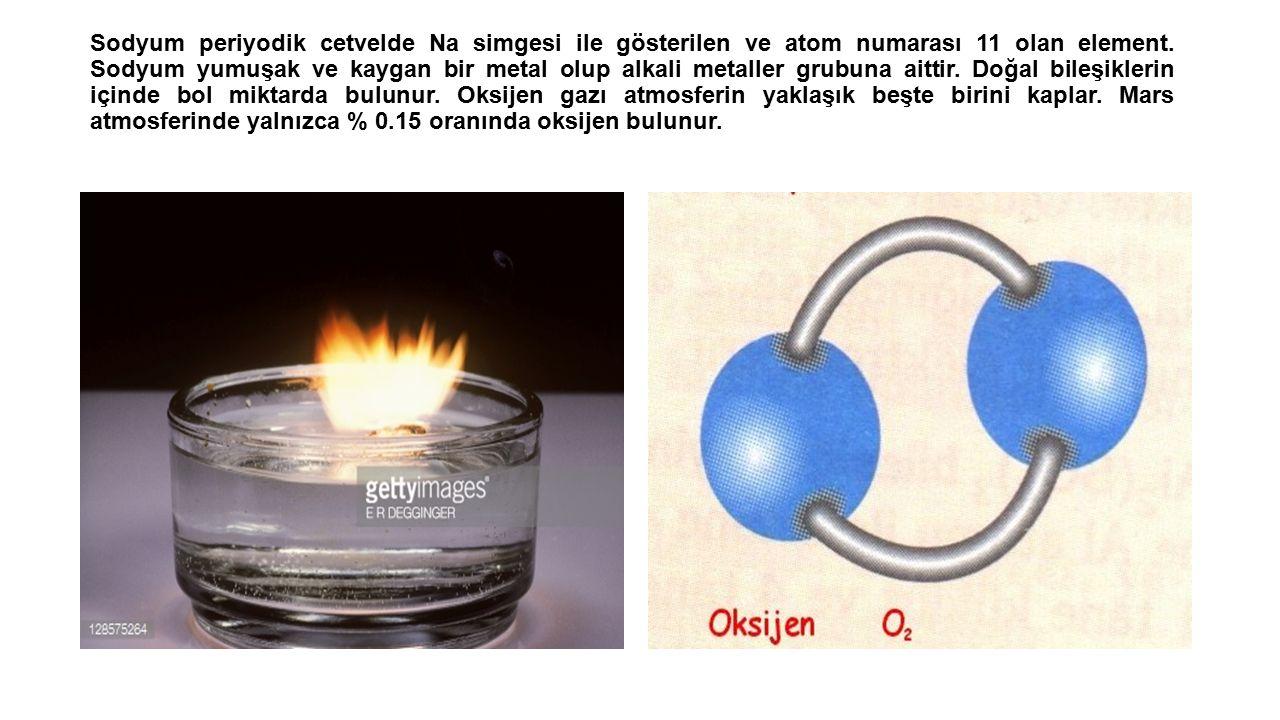 Sodyum periyodik cetvelde Na simgesi ile gösterilen ve atom numarası 11 olan element.