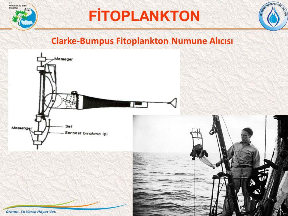 Clarke-Bumpus Fitoplankton Numune Alıcısı 19 FİTOPLANKTON