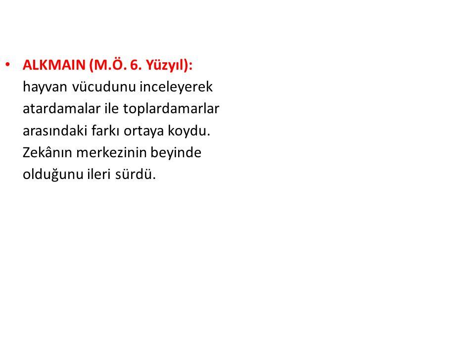 ALKMAIN (M.Ö.6.