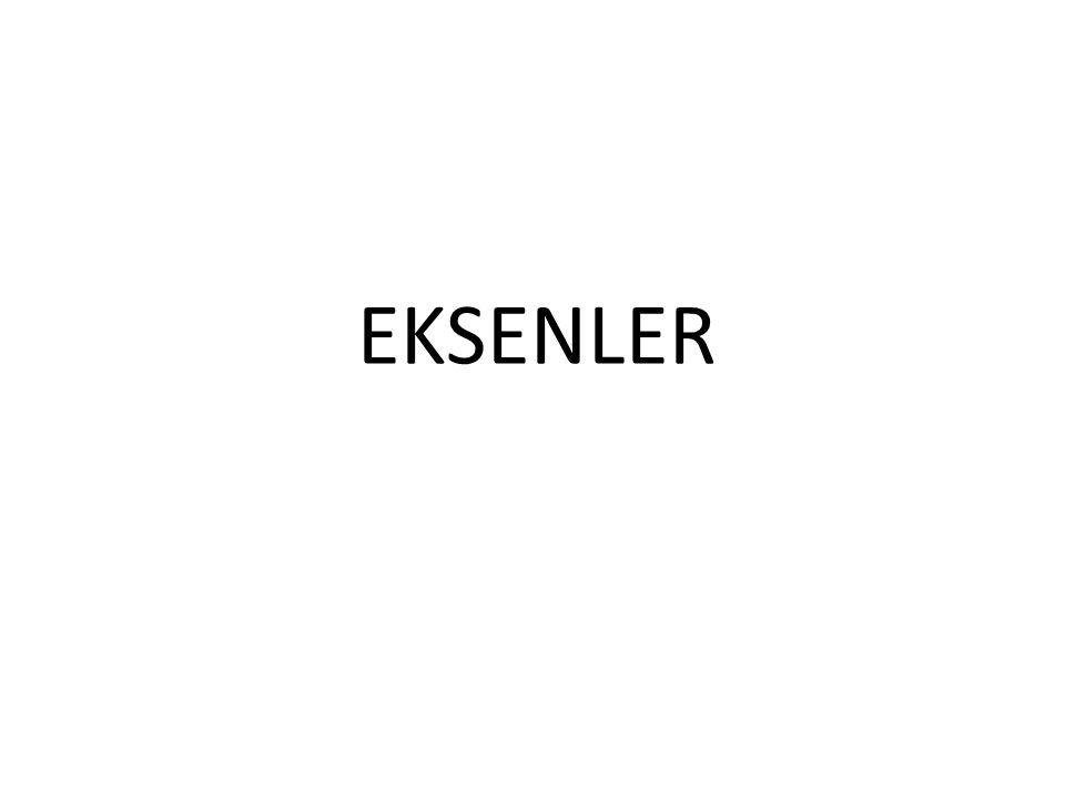 EKSENLER