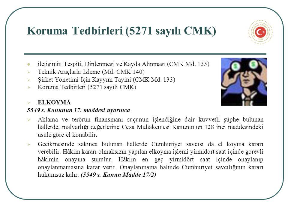 Koruma Tedbirleri (5271 sayılı CMK) iletişimin Tespiti, Dinlenmesi ve Kayda Alınması (CMK Md.