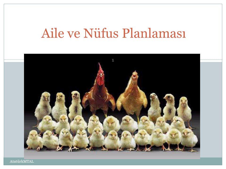 Aile ve Nüfus Planlaması AtatürkMTAL 1