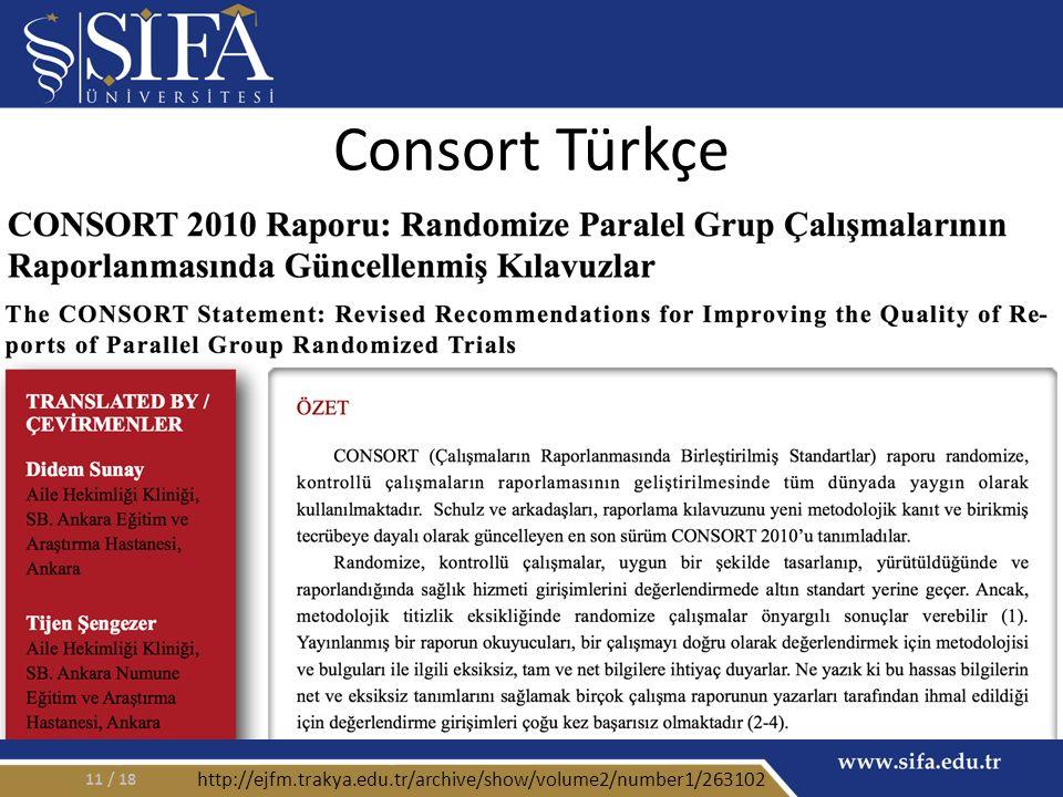 Consort Türkçe / 1811 http://ejfm.trakya.edu.tr/archive/show/volume2/number1/263102