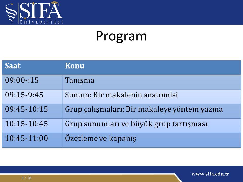 Program / 183