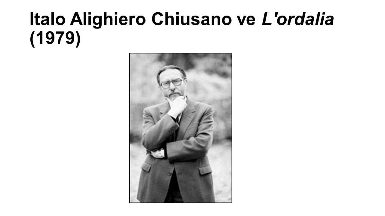 Italo Alighiero Chiusano ve L ordalia (1979)