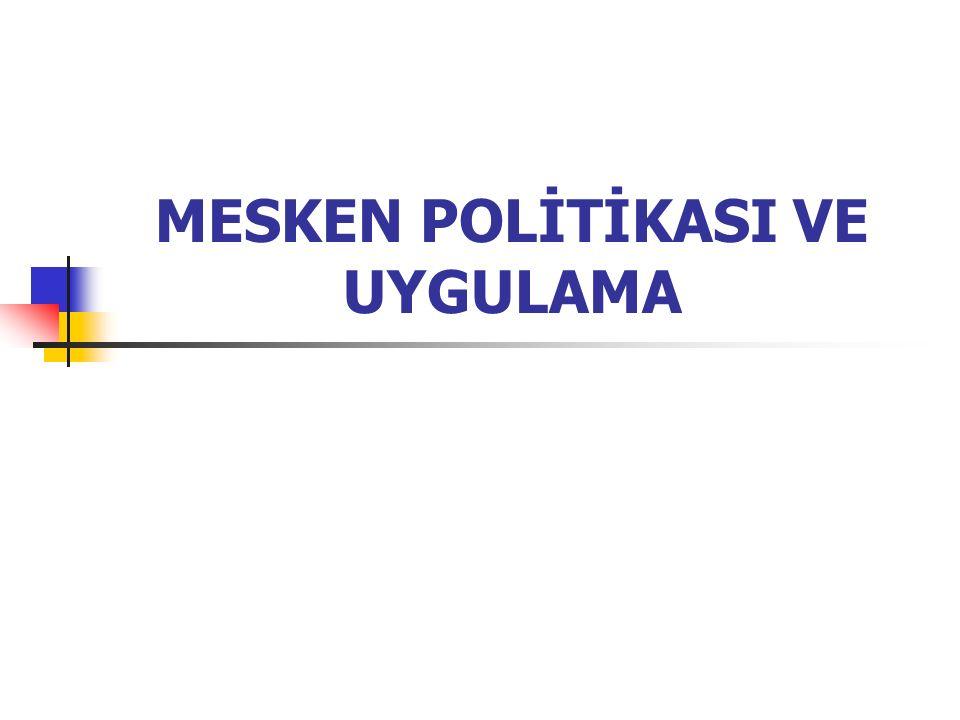 TABLO 1( Avcı, S.2000. Türkiye'nin Ekonomi Politikaları ve Coğrafi Sonuçları.