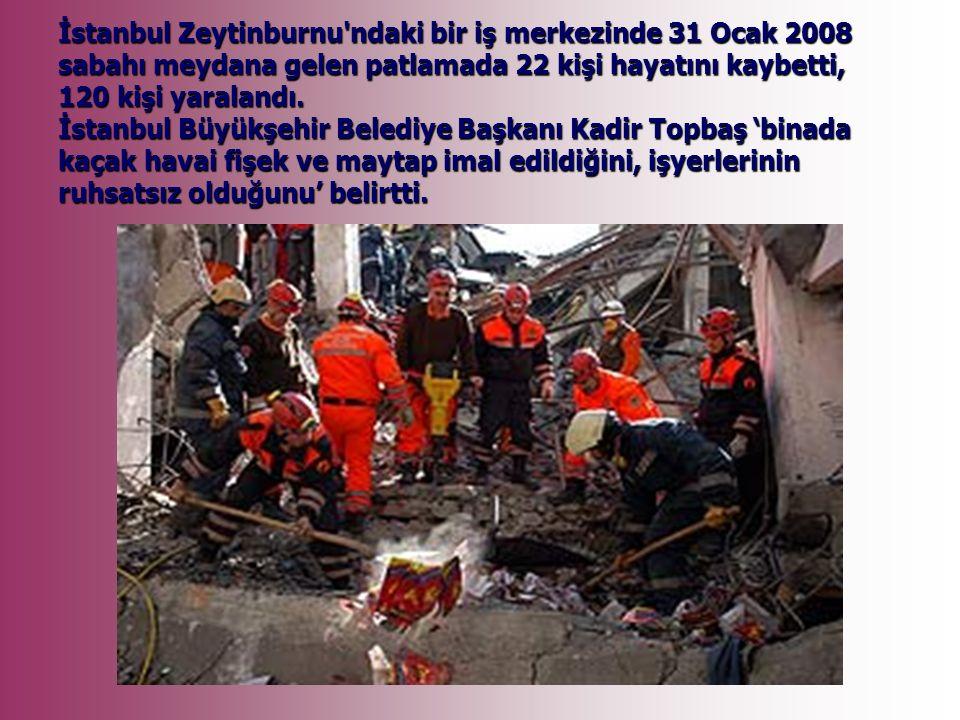 19 Ekim 2007 Sarıyer de, aşırı yük yüzünden frenleri tutmayınca İETT otobüsüne çarparak Derya Demir in (27) çamur içinde ölmesine ve 3 kişinin de yaralanmasına neden olan kamyon, İSKİ nin taşeronu Bakır İnşaat a ait çıktı.