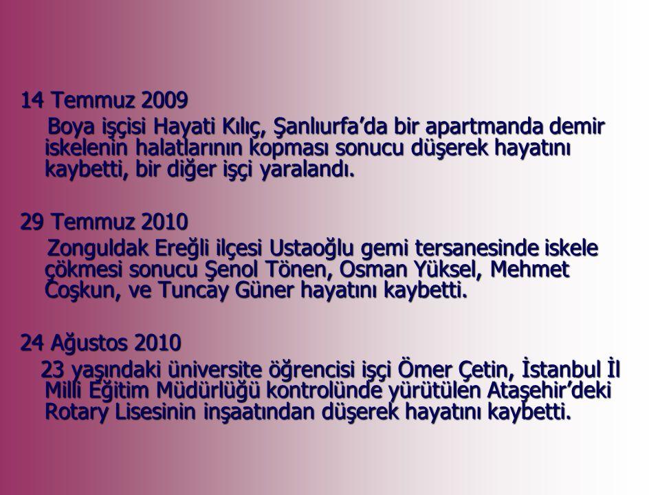 İstanbul Zeytinburnu ndaki bir iş merkezinde 31 Ocak 2008 sabahı meydana gelen patlamada 22 kişi hayatını kaybetti, 120 kişi yaralandı.