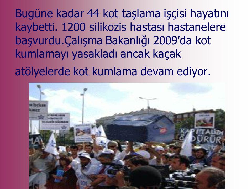 17 Mayıs 2010 Zonguldak'ta Türkiye Taşkömürü Kurumu Karadon Müessese Müdürlüğü maden ocağında grizu patlaması sonucu 30 kişi hayatını kaybetti, Başbakan kader dedi… Rakamlar toplu cinayet diyor…
