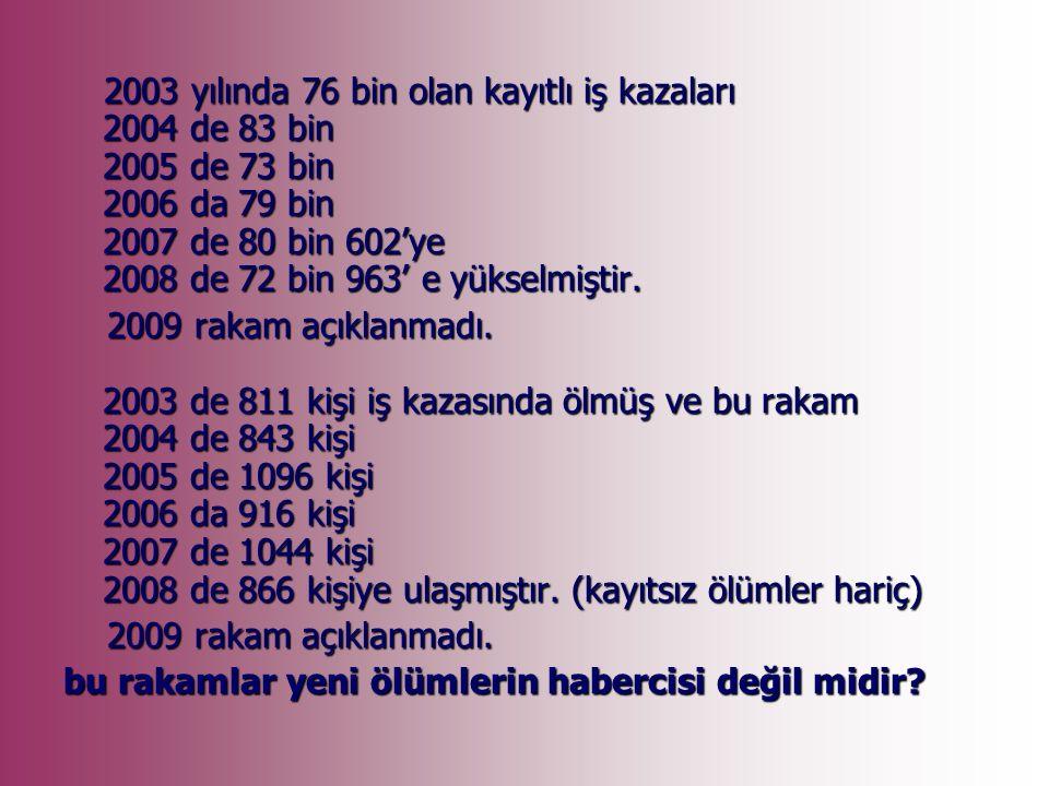 Türk gemi inşa sanayiinin belkemiği olan Tuzla tersanelerinde, 2000 yılından bu yana toplam 142 işçi, iş kazalarında hayatını kaybetti.