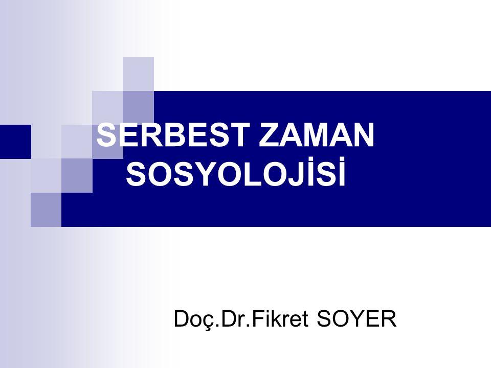 SON Doç.Dr.Fikret SOYER
