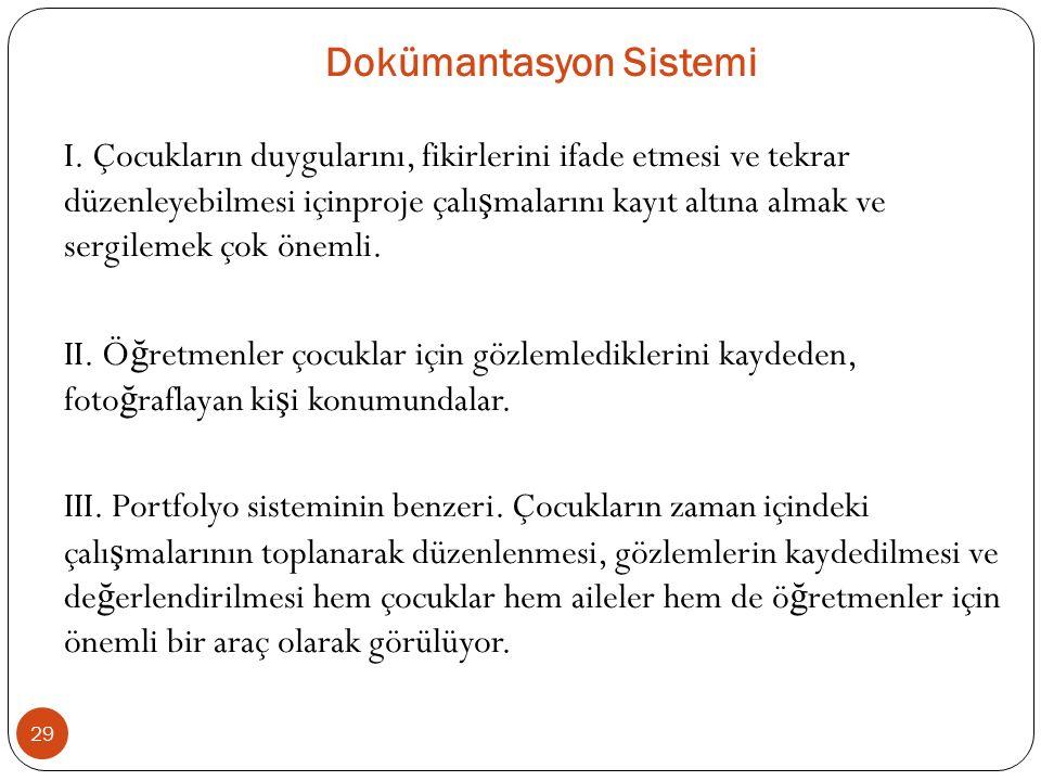 Dokümantasyon Sistemi I.