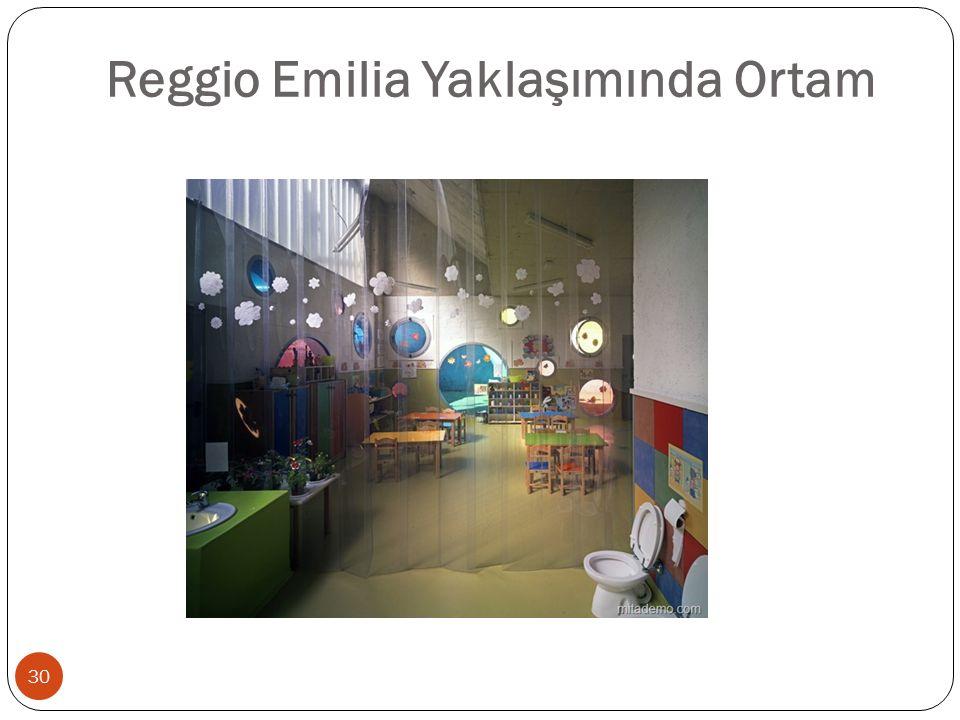 Reggio Emilia Yaklaşımında Ortam 30