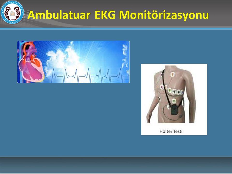 Ambulatuar EKG Monitörizasyonu
