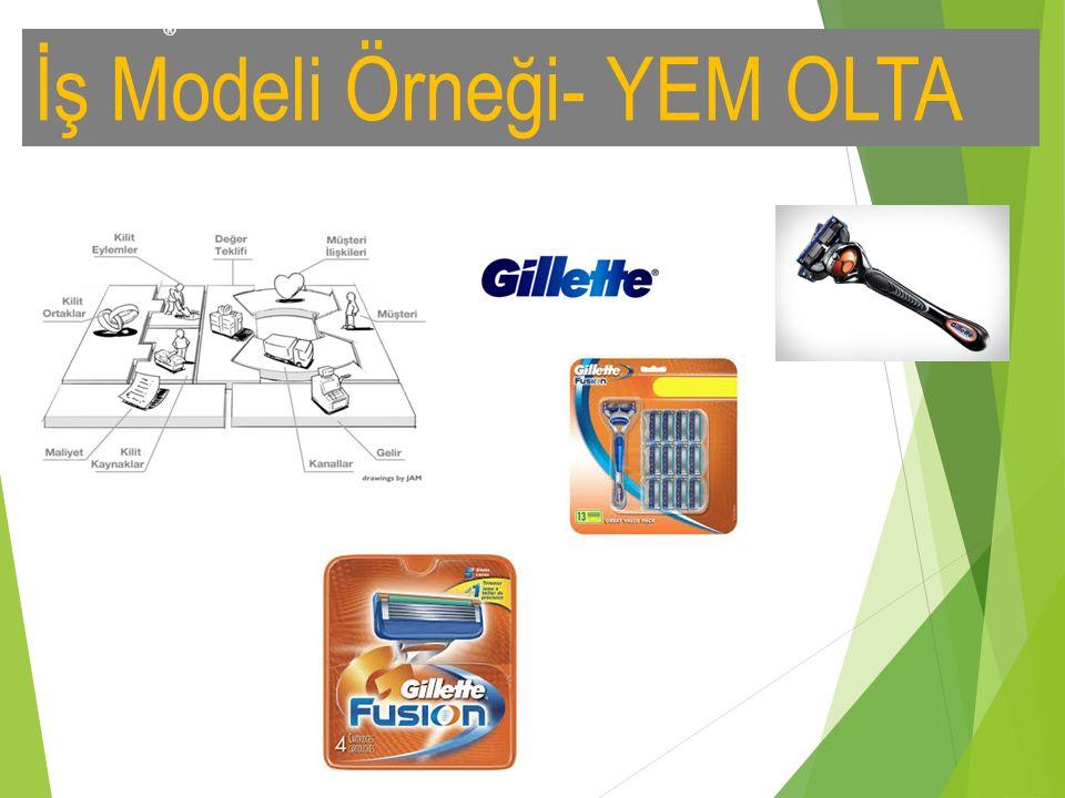 İş Modeli Örneği- YEM OLTA ®