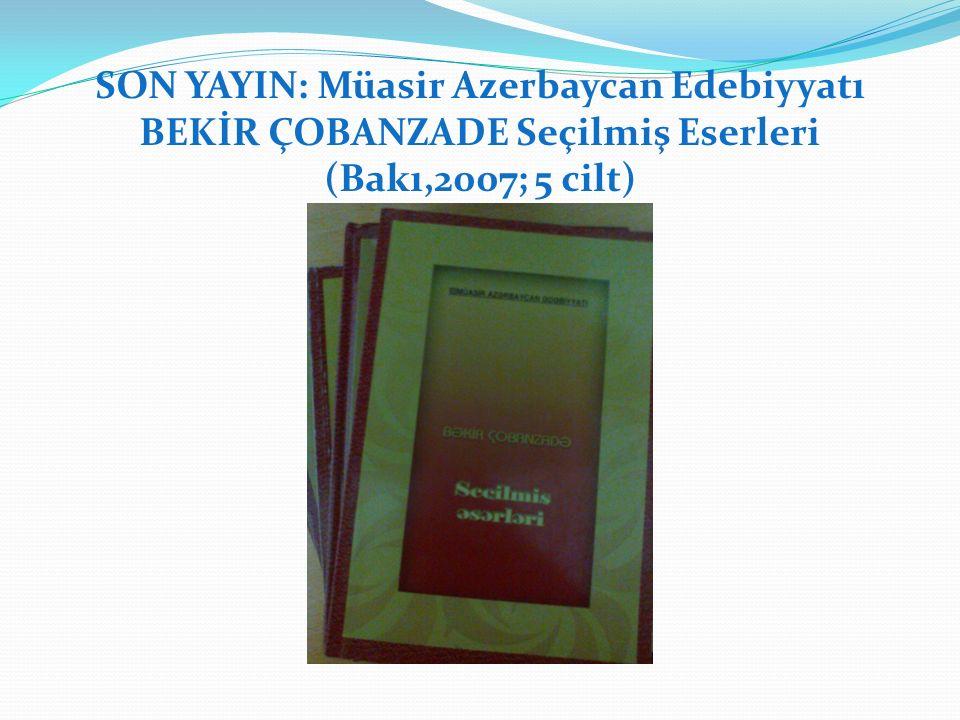 KİTAPLAR İsmail OTAR'ın Kitabı Kenan ACAR'ın Kitabı