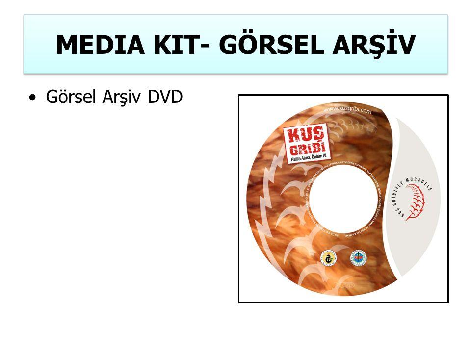 MEDIA KIT- GÖRSEL ARŞİV Görsel Arşiv DVD