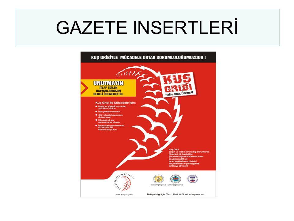GAZETE INSERTLERİ