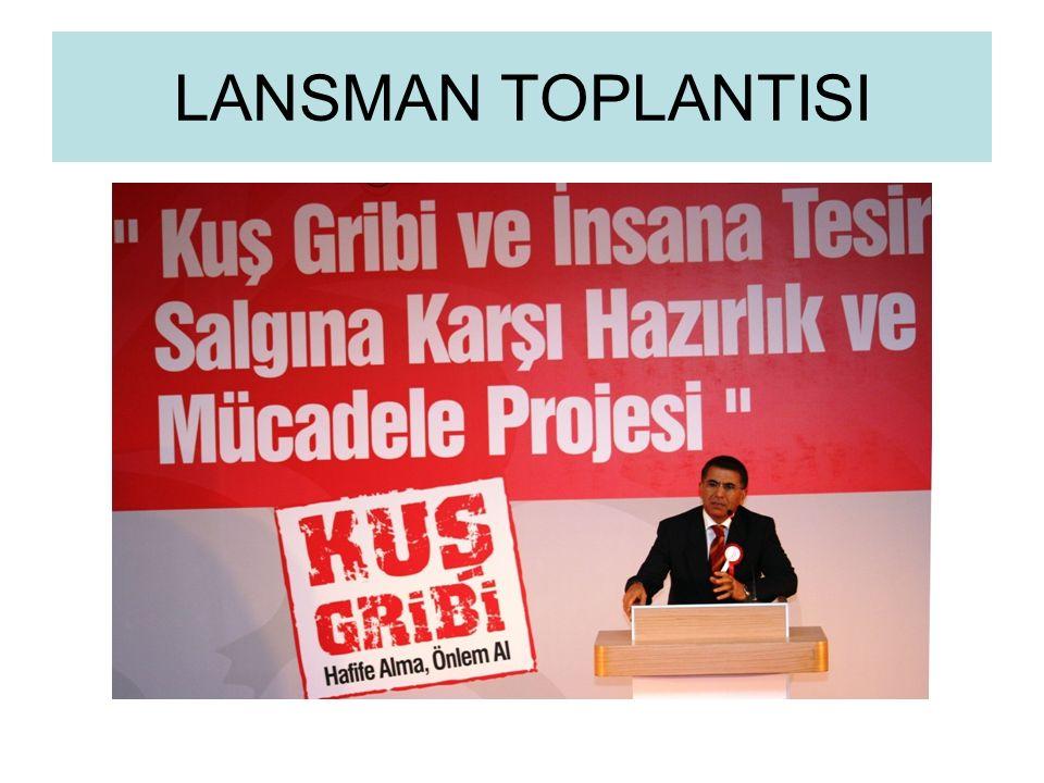 LANSMAN TOPLANTISI