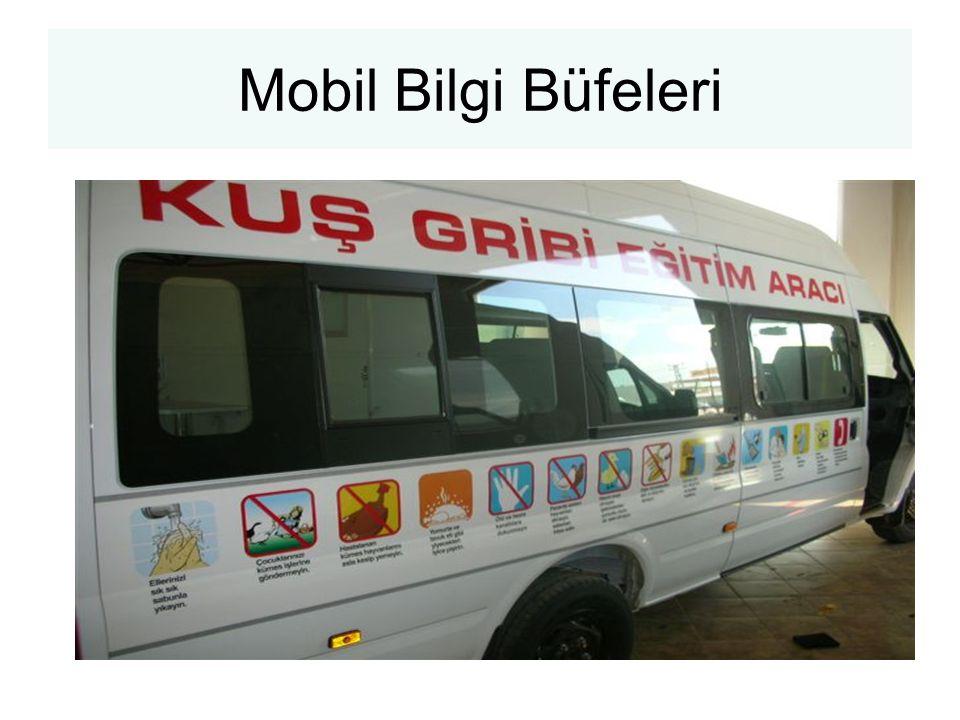 Mobil Bilgi Büfeleri